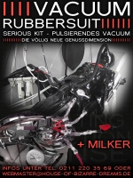 Serious Kit Heavy Rubber Suit & Milker