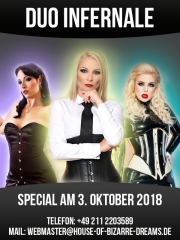 Special am 3. Oktober - Duo Infernale