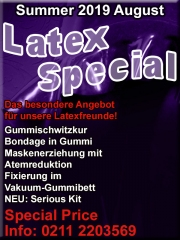 Our annual highlight in August: Latex-Special