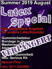 Our annual highlight in September: Latex-Special